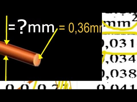 awg to mm2 table, AWG to square mm wire gauge conversion - YouTube