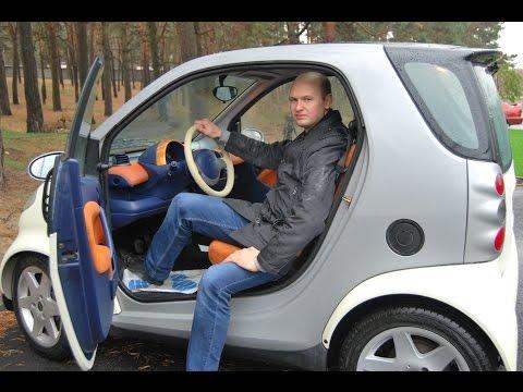 Smart City Coupe (FORTWO) 2000 г Обзор/тест драйв . Подробно о бо всем