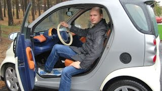 (FORTWO) aqlli Shahar Coupe 2000 Mulohaza/test haydovchi . Barcha tafsilotlar haqida Bo