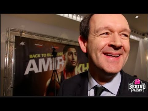 """""""THERE COULD BE A KHAN-BROOK TRILOGY!"""" - ADAM SMITH """"DELIGHTED"""" AT AMIR KHAN SIGNING w. EDDIE HEARN"""