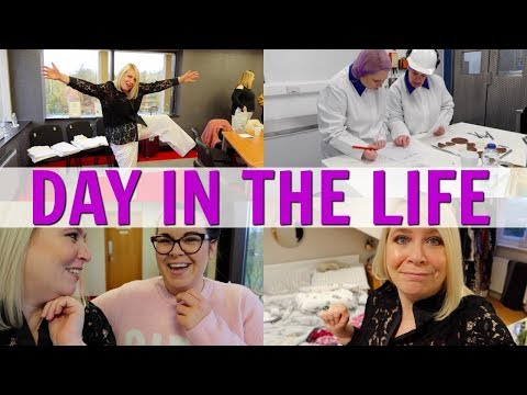 WORK DAY IN THE LIFE! (AD)