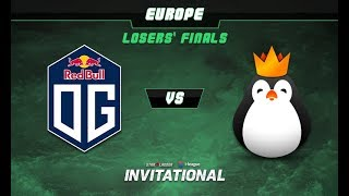 OG vs Kinguin Game 1 - SL-i Invitational: EU Qualifier Losers' Finals - @Bkop92