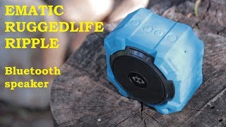 Only $19 87 for Ematic RuggedLife Durable Bluetooth Speaker and