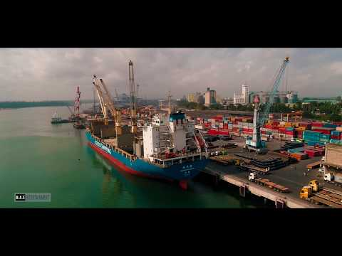 Tanzania Ports Authority_Dar es salaam Drone Shot 4k