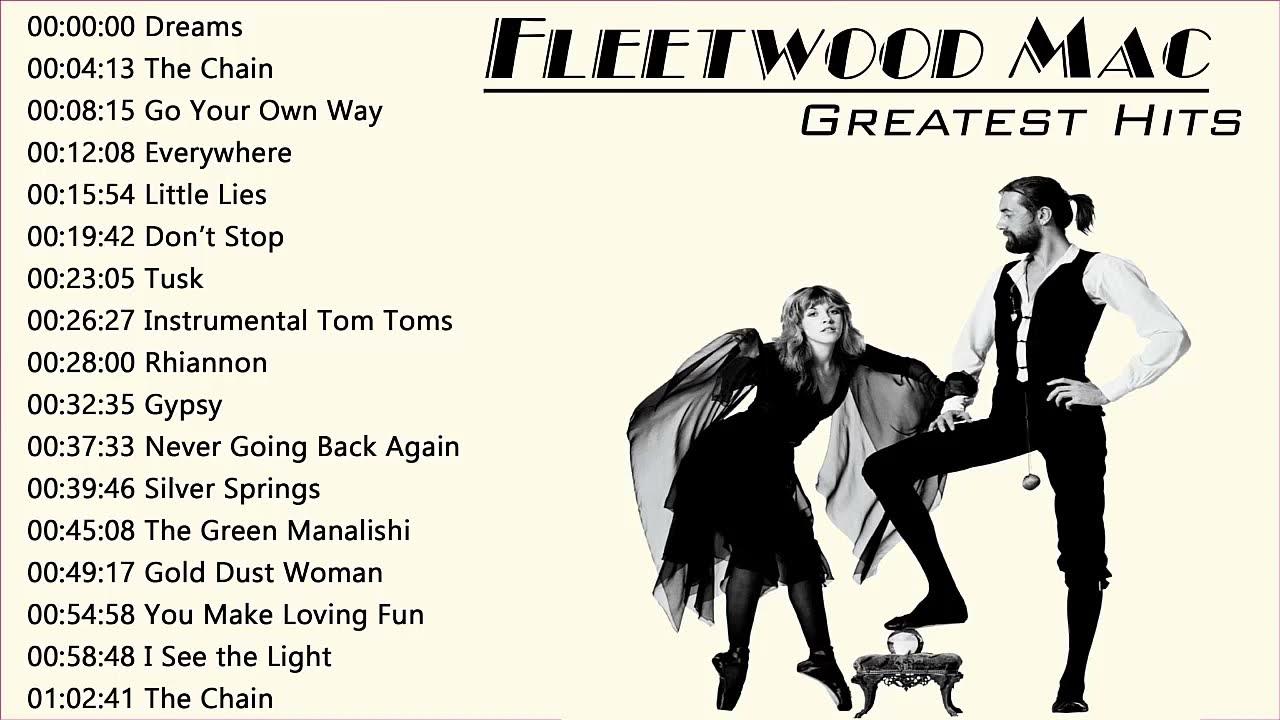 Download Fleetwood Mac Greatest Hits Full Album 🍀🌿🌹