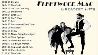 Fleetwood Mac Greatest Hits Full Album 🍀🌿🌹