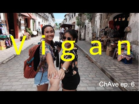 Wet n' Wild in Vigan | ChAve ep. 6 travel vlog