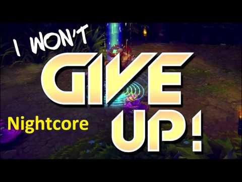 Instalok - I Won't Give Up Nightcore