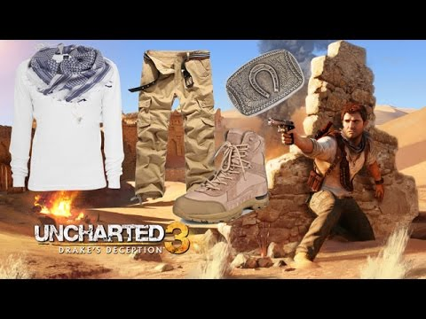 Uncharted 3 Cosplay Announcement & Fan Mail Unboxing!!