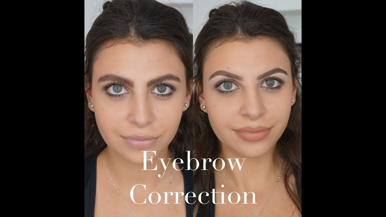 How To Perfectly Correct Your Eyebrows By Makeupbyani Youtube