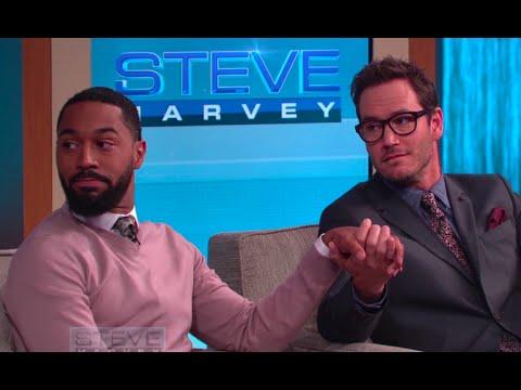 MarkPaul Gosselaar & Tone Bell: We'll do anything for ratings  STEVE HARVEY