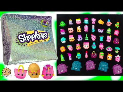 Full Set of 40 Mystery Edition #3 Season 1 Shopkins & Exclusives In Hologram Box