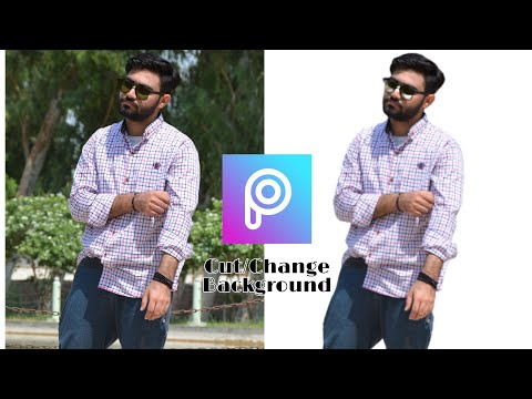 How To Cut/Change Background In Picsart||Free Editing Tutorial||