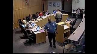 Wichita school board meeting: Not for the public