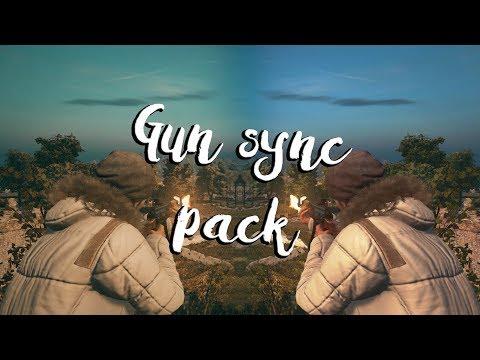 (300 Subs special) PUBG Gun Sync Pack