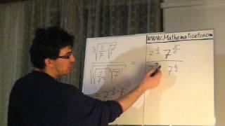 Mocniny a odmocniny - příklad 2