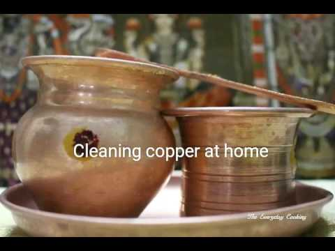 how to clean copper vessels how to clean pooja items how to clean copper easily at home. Black Bedroom Furniture Sets. Home Design Ideas