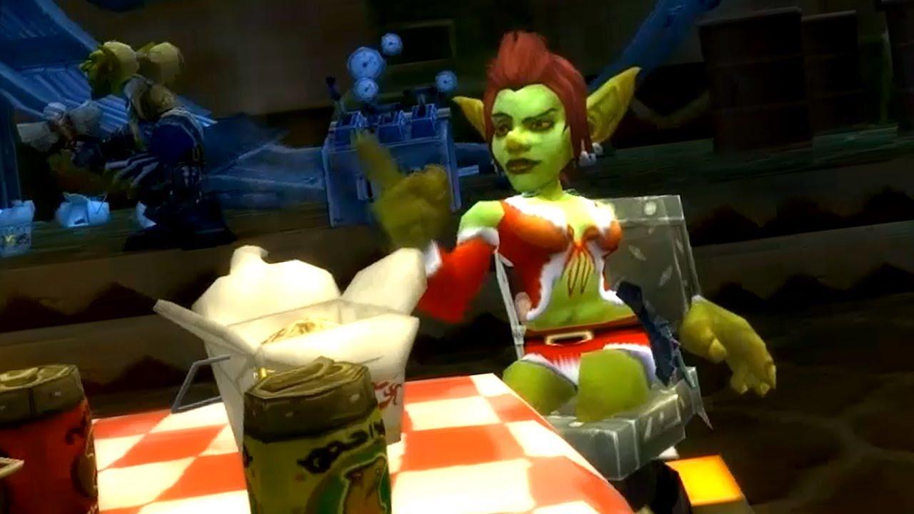 my wow christmas d world of warcraft machinima youtube - World Of Warcraft Christmas