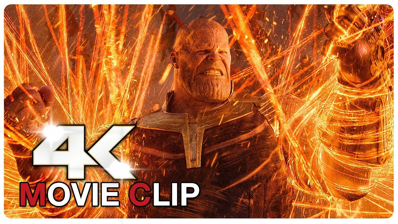 AVENGERS INFINITY WAR - Avengers Vs Thanos - Battle Scene - Movie Clip (4K ULTRA HD) NEW 2018