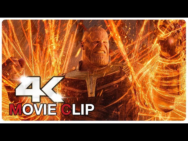 AVENGERS INFINITY WAR - Avengers Vs Thanos - Battle Scene - Movie Clip (4K ULTRA HD) NEW 2018