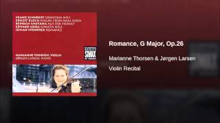 Romance, G Major, Op.26