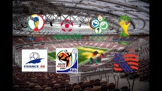 All FIFA World Cup TV Intro (1986 - 2014)