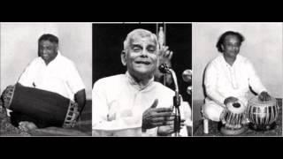 Palght K V Narayanaswamy- Palghat Raghu- Ustad Alla Rakha Khan - Kambodhi -Pallavi