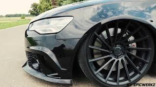 Black Beast Audi A6 4G CarPorn