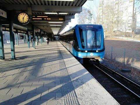 Skärholmen City In Stockholm Sweden