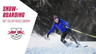 Die chance ließ sich rb leipzig coach julian nagelsmann nicht nehmen und nutzte vielen schneemassen für eine runde snowboarden.▶ http://www.dierotenbulle...