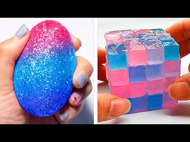 Oddly Satisfying Slime ASMR No Music Videos | Relaxing Slime 2020 | 14