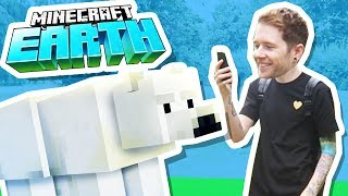i got minecraft earth early worlds first