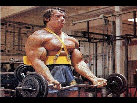 Arnold Schwarzenegger, Ronnie Coleman, Jay Cutler Training