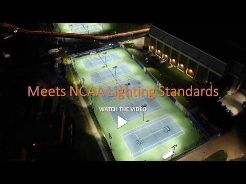 MSU Tennis Courts - LED Retrofit Lighting