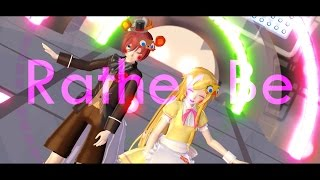 【MMD】Rather Be【Toy Freddy & Toy Chica】