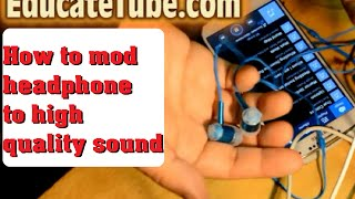 Video How to mod cheap headphone to high quality headphone for free download MP3, 3GP, MP4, WEBM, AVI, FLV Juni 2018