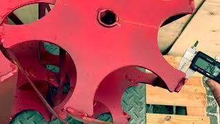 Активный ротор(роторная борона)23мм длинна 500мм