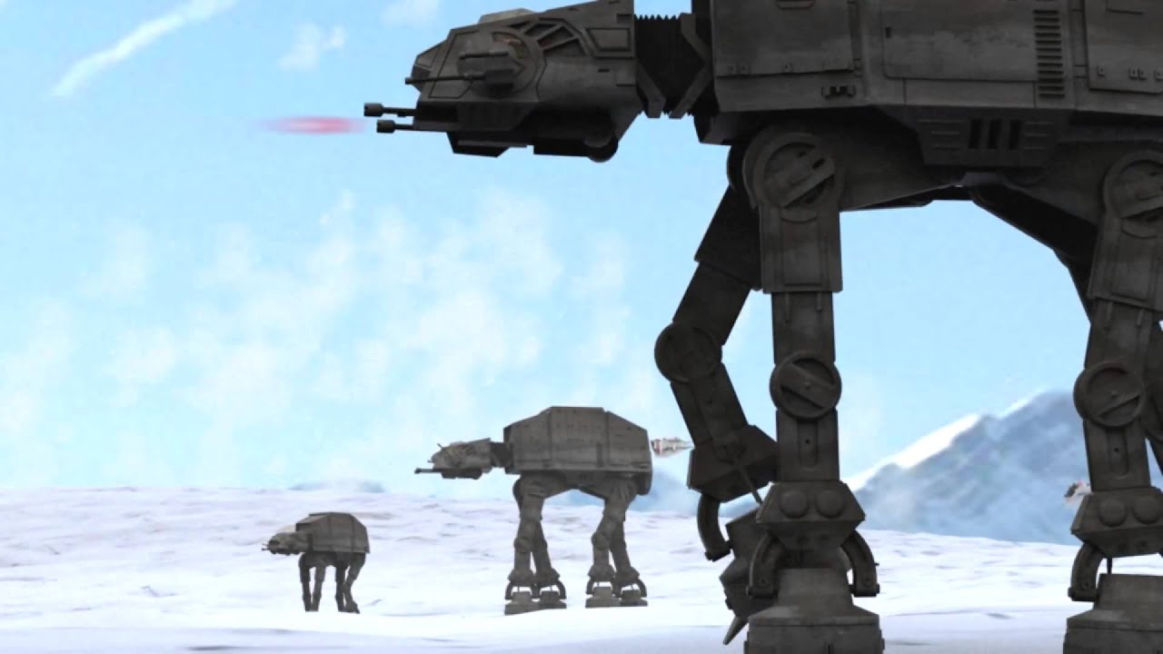 Free 3d Wallpaper And Screensavers 3d Animation Star Wars Episode V Battle Of Hoth
