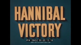 "WORLD WAR II VICTORY SHIP FILM ""HANNIBAL VICTORY"" PART 1 28452"