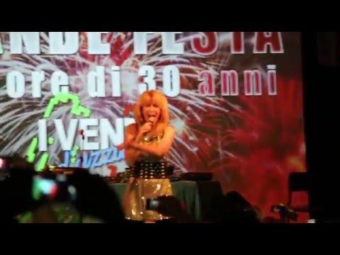 Linda Jo Rizzo - Passion @ I Venti D'Azzurro 30 Years party Milan 07-05-2016