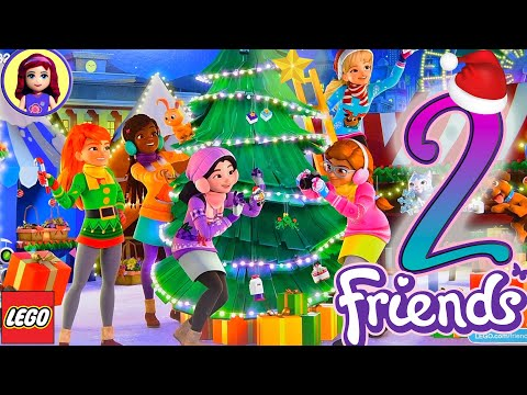 Opening Door 2 - Countdown To Christmas With Lego Friends Advent Calendar