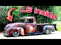 1950 Chevy pick-up LS swapped