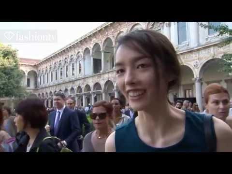 Model Talks   Fei Fei Sun Interview and Runway Highlights at