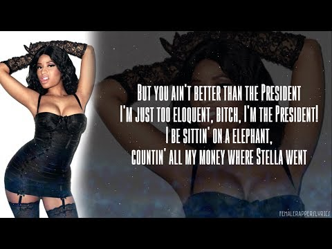 Nicki Minaj - Grindin' (Lyrics - Video)