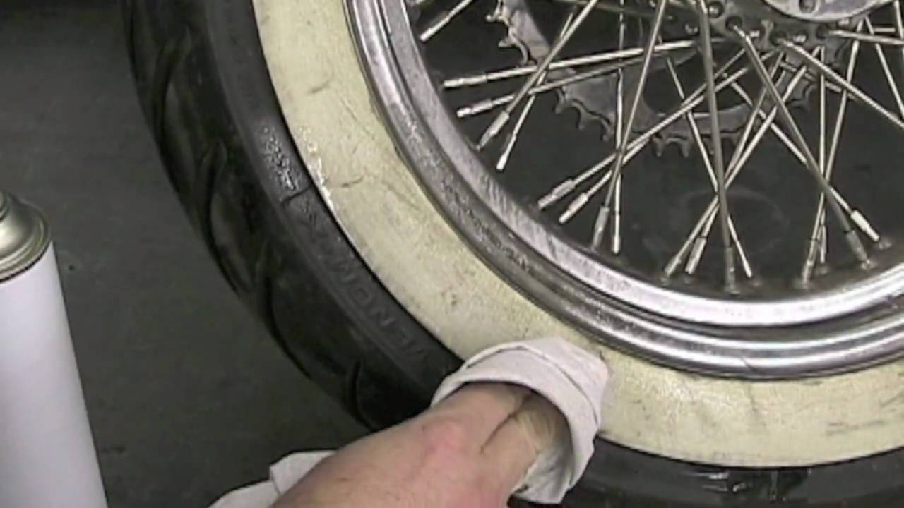 How To Make White Wall Tire Paint