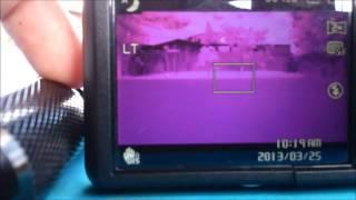 Conversão de câmera digital em câmera de visão noturna