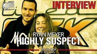 HIGHLY SUSPECT - Ryan Meyer interview @Linea Rock 2018 by Barbara Caserta