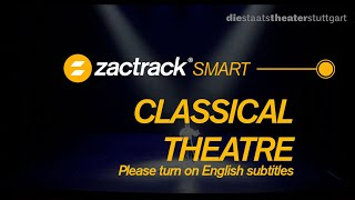 zactrack SMART - Classical theatre