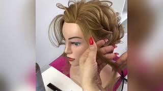Как сделать современный бутончик розы из волос от Ларисы Реча