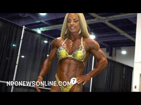 2017 Olympia Womens Physique Backstage Video